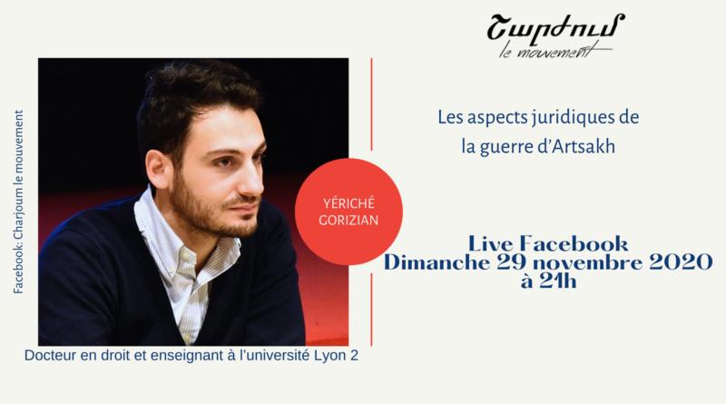 Live avec Yériché Gorizian