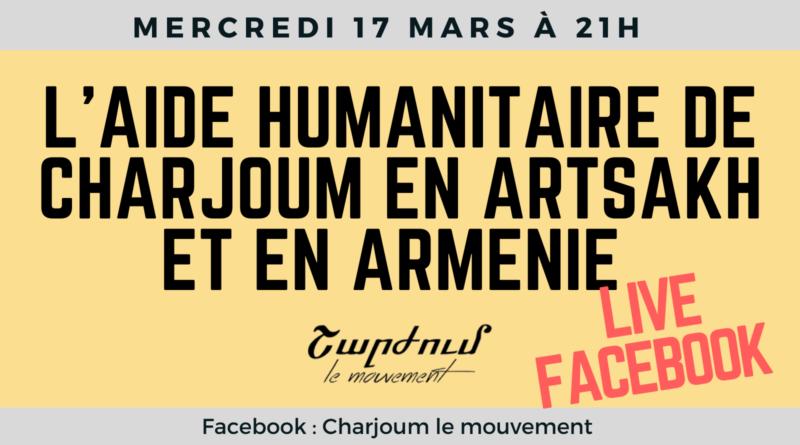 L'aide humanitaire de Charjoum en Arménie et en Artsakh