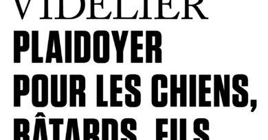 Plaidoyer pour les chiens, bâtards, fils de chiennes de Philippe Videlier.