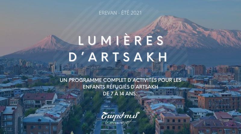 Lumières d'Artsakh – camp d'été 2021 à Erevan