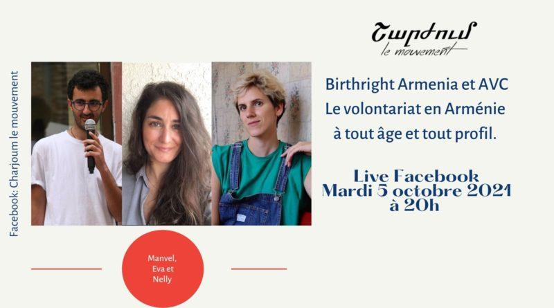 Le volontariat en Arménie